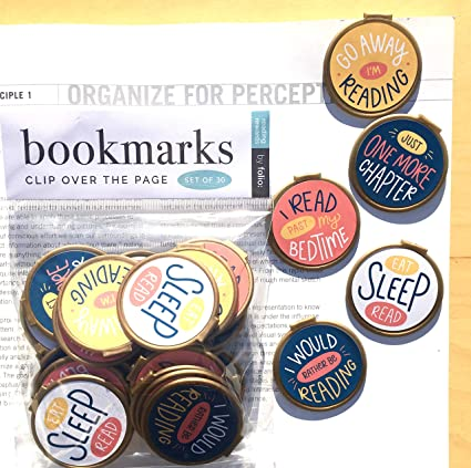 Clip Over The Page Readers Quote Bookmarks