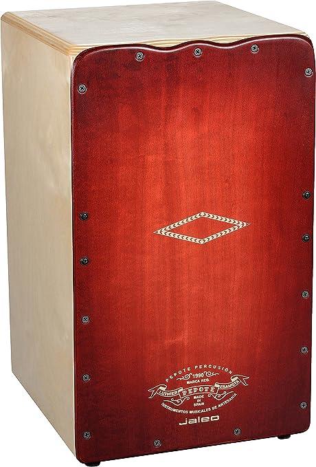 Pepote PEJAL Jaleo - Cajón flamenco, color rojo: Amazon.es: Instrumentos musicales