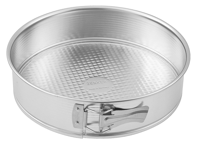 Zenker Tin Plated Steel Springform Pan, 8-Inch Z8443