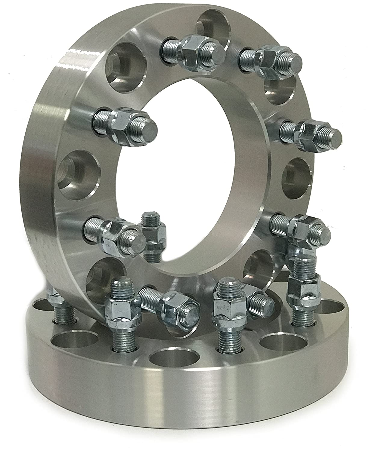 Supreme Engineering Technologies 8x180 to 8X6.5 Wheel ADAPTERS 1.5 USE 8X6.5 Wheels ON 8X180 Chevy GMC Truck