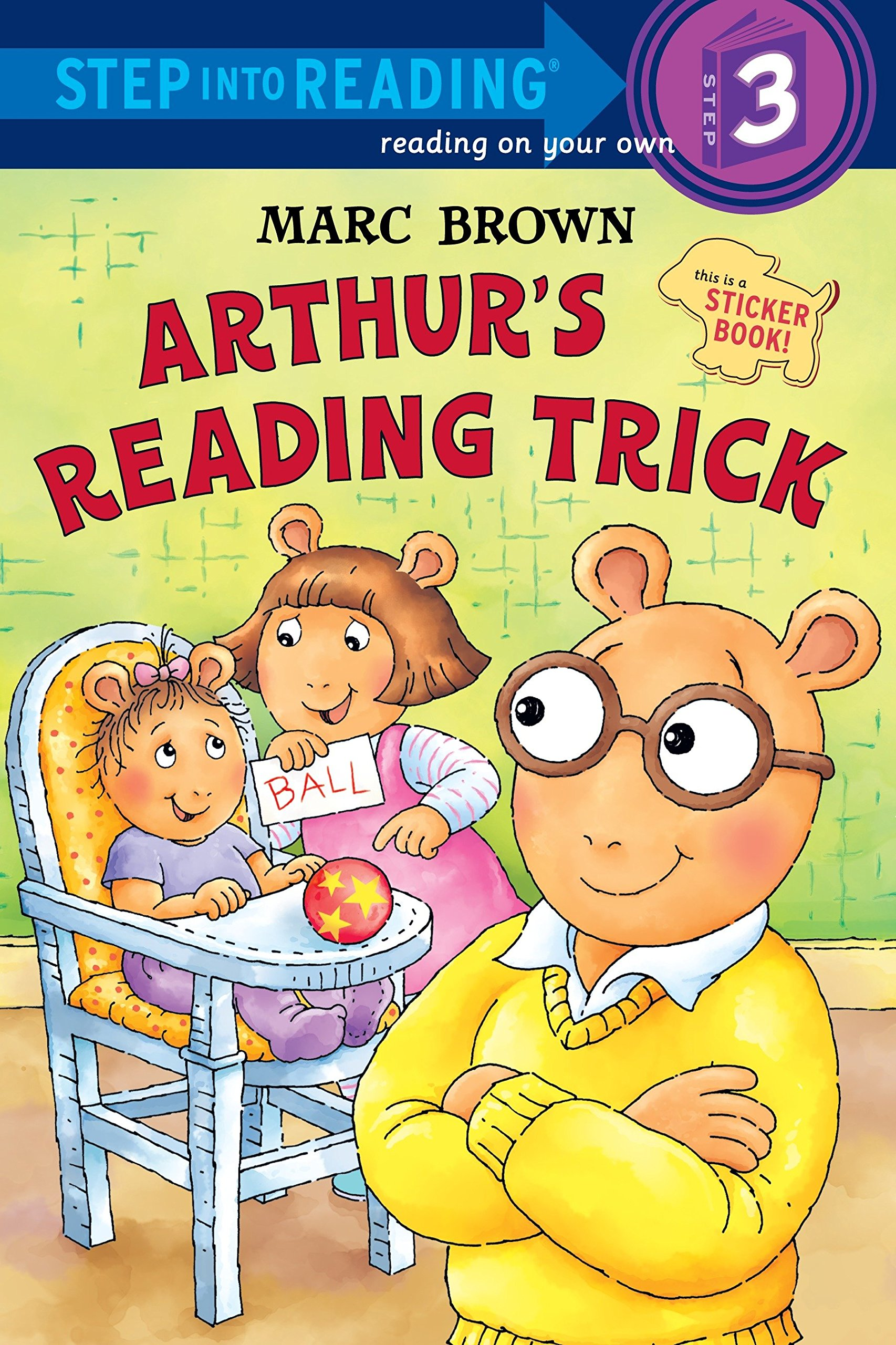Download Arthur's Reading Trick (Step into Reading) pdf