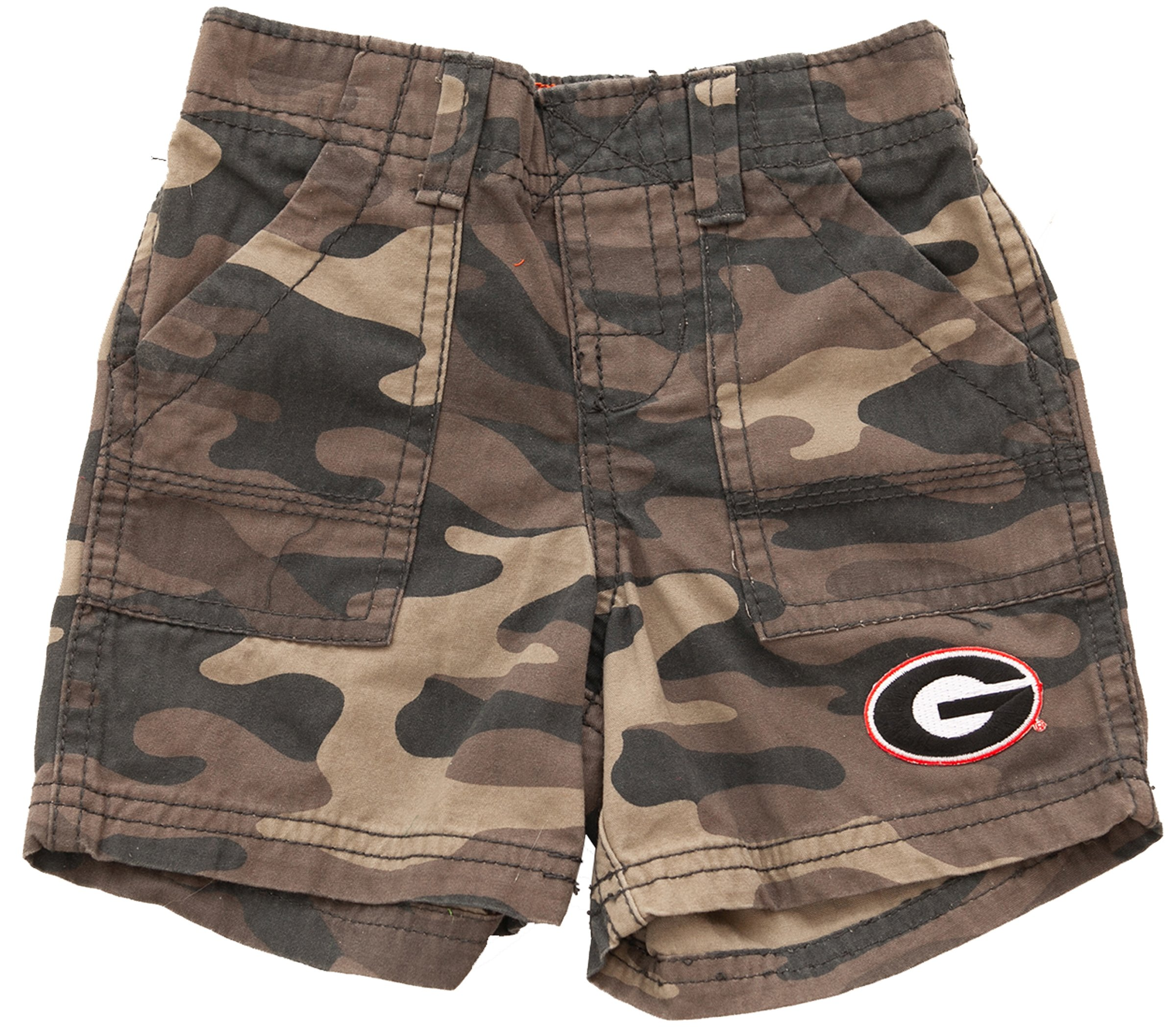 Georgia Bulldogs Camo Shorts 24 months