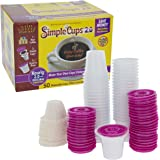 Disposable Cups for Use in Keurig® 2.0 Brewers - 50 - 2.0 Cups, Lids, and Filters - Use Your Own Coffee in 2.0 K-Cups