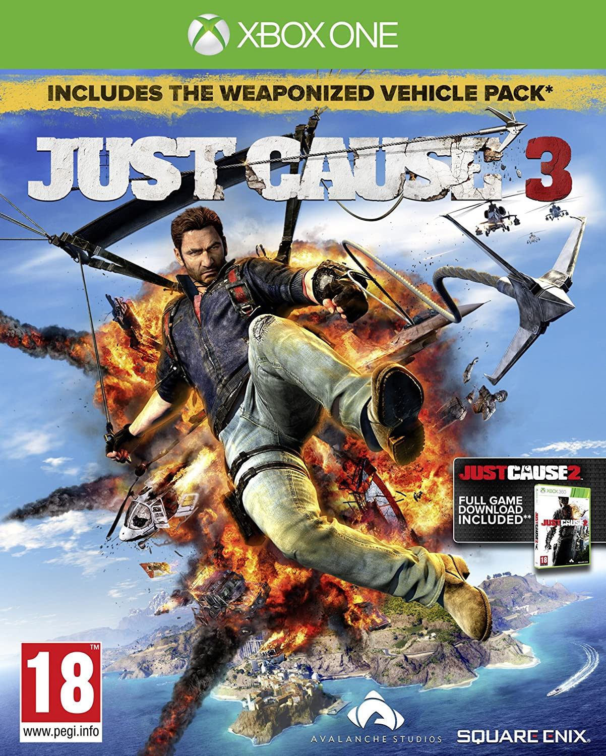 Just Cause 3 Day 1 Edition (Xbox One): Amazon co uk: PC