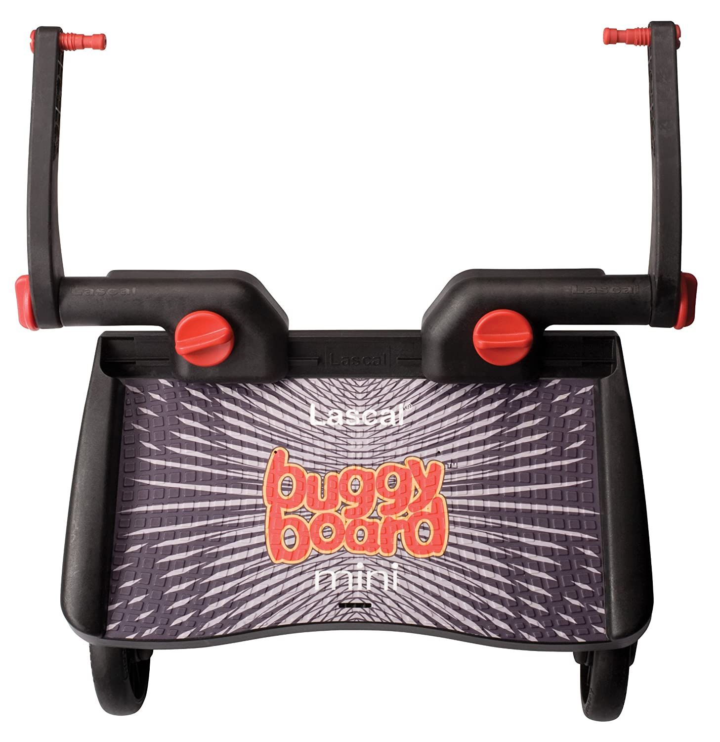 Lascal 2830 Buggy Board Mini with Universal Couplings Black