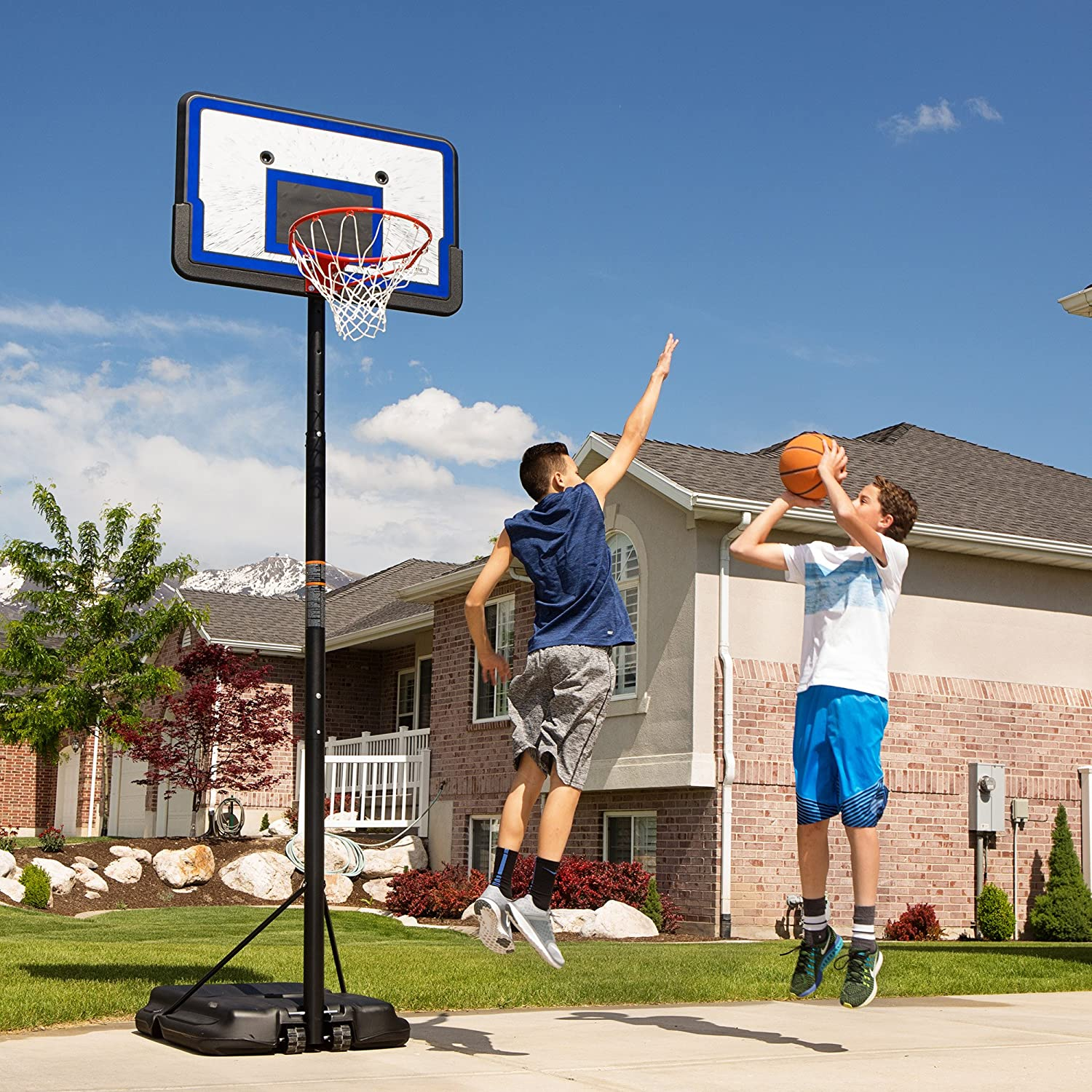 Lifetime Pro Court Height Basketball