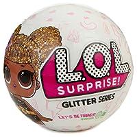 Giochi Preziosi LOL Surprise Glitter, Sfera con Mini Doll a Sorpresa, 7 Livelli, Modelli Assortiti, 1 Pezzo
