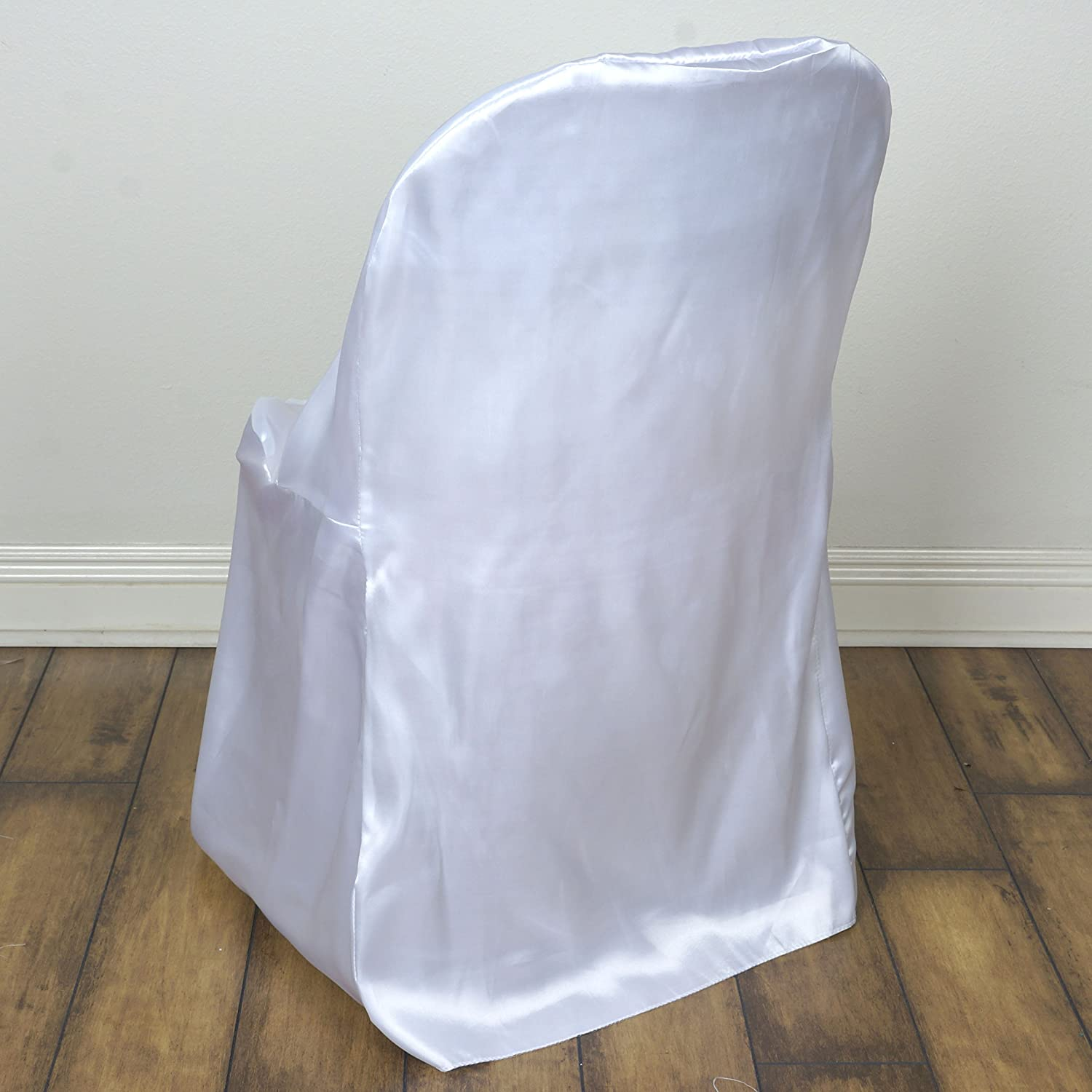Amazon 50 pcs Satin Folding CHAIR COVERS Wedding Catering