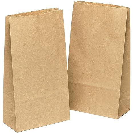 Buste Carta Riso.50 Pezzi Sacchetti Di Carta 12 X 22 X 6cm Carta Regalo Buste Shopper Biodegradabili Sacchettini Carta Kraft Ideali Per Caramelle Compleanno