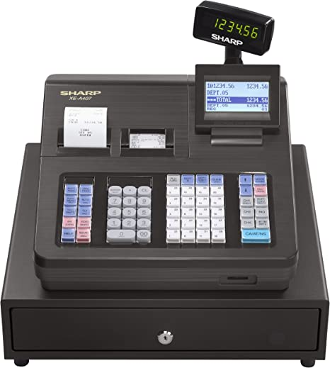 Sharp xea407 avanzada presentación caja registradora: Amazon.es: Electrónica