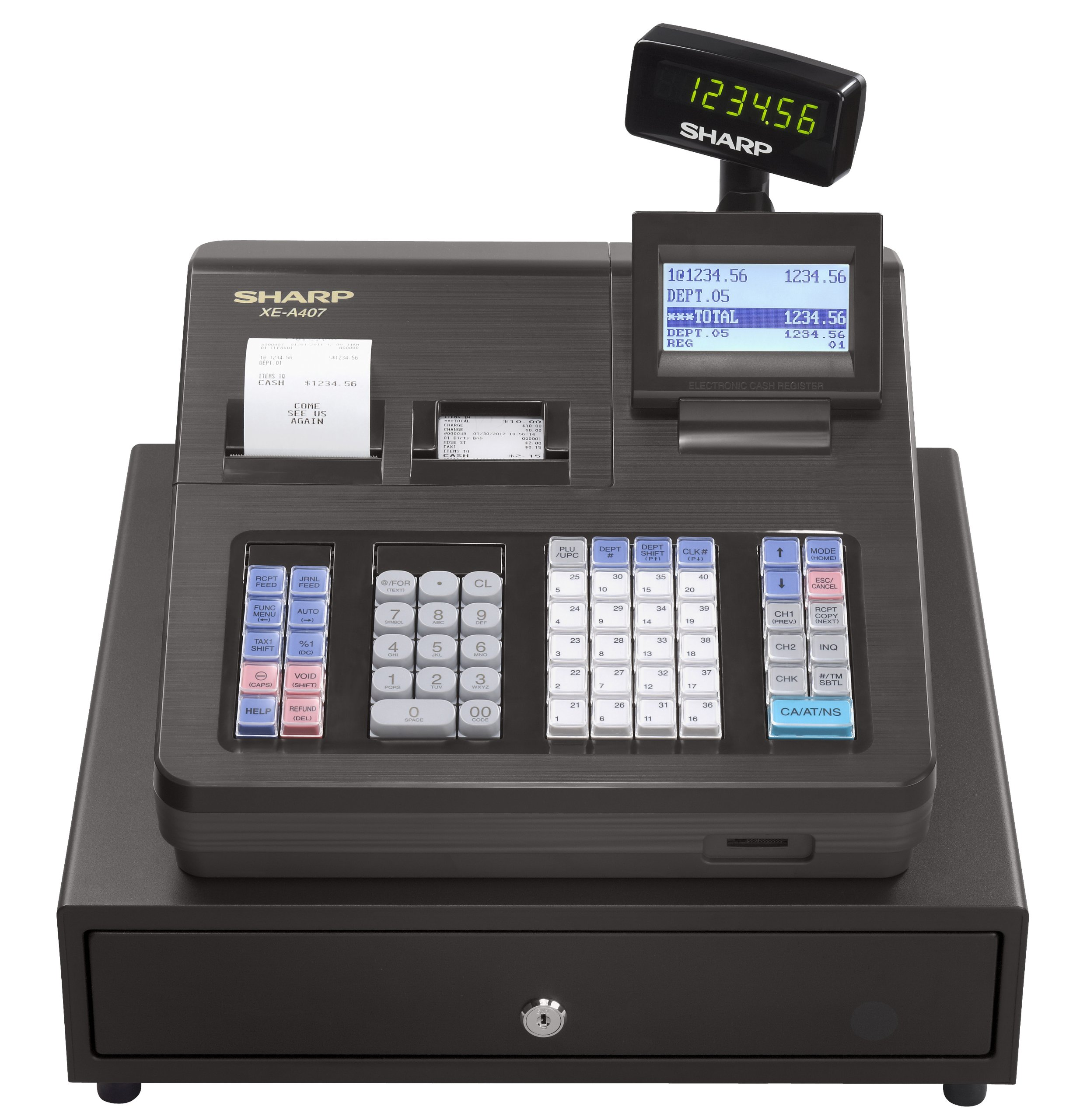 Sharp XEA407 Advanced Reporting Cash Register by Sharp