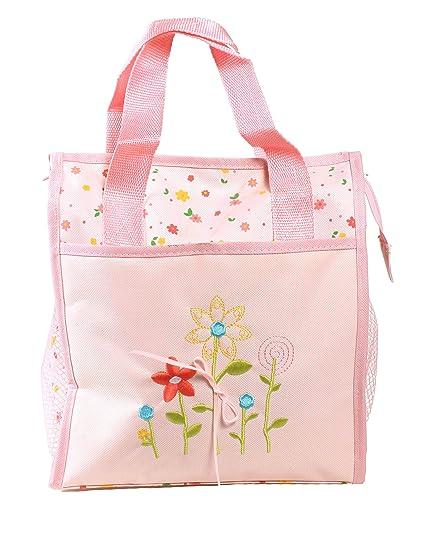 AMC (TM) bebé recién nacido floral print - Bolso para pañales bolsa ...