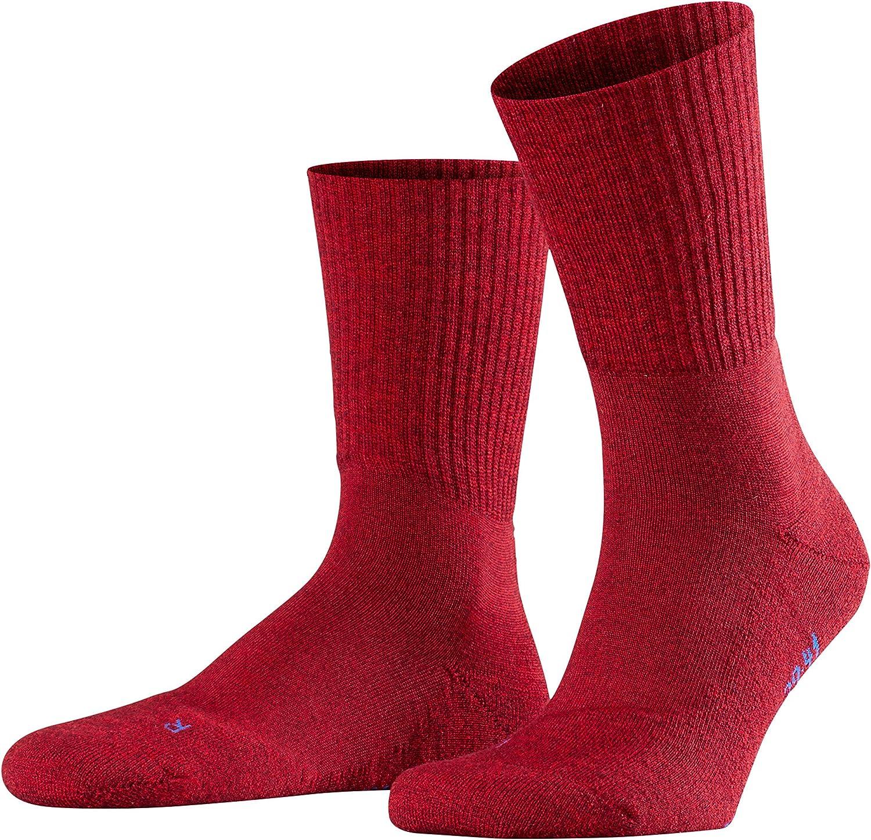 FALKE Unisex-Adult Walkie Ergo Hiking Socks - Merino Wool Blend, Multiple Colors, US sizes 3 to 13.5, 1 Pair