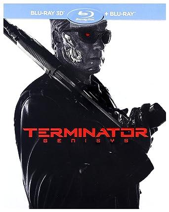 Terminator: Genesis Steelbook Blu-Ray + Blu-Ray 3D Region Free ...