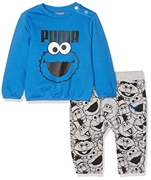 7f9efc18c078 Puma Children s Sesame Street Infant Jogger Tracksuit  Amazon.co.uk ...