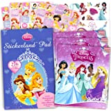 Disney Princess Stickers and Tattoos Party Favor Pack (276 Stickers & 75 Temporary Tattoos)