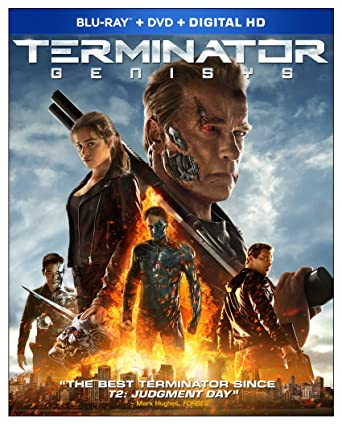 Terminator Genisys (Blu-ray + DVD + Digital HD)