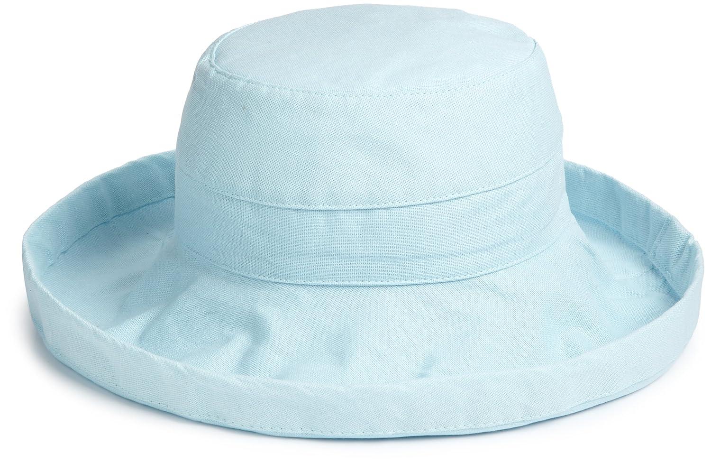 Sea glass Scala Women's Cotton Big Brim Hat