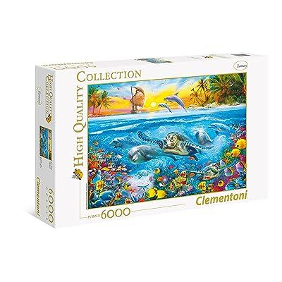 Clementoni - Puzzle 6000 Piezas Underwater (36523): Juguetes y juegos