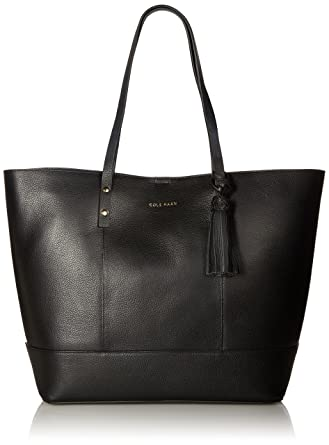 0436482d265 Amazon.com: Cole Haan Bayleen Tote, Black: Clothing