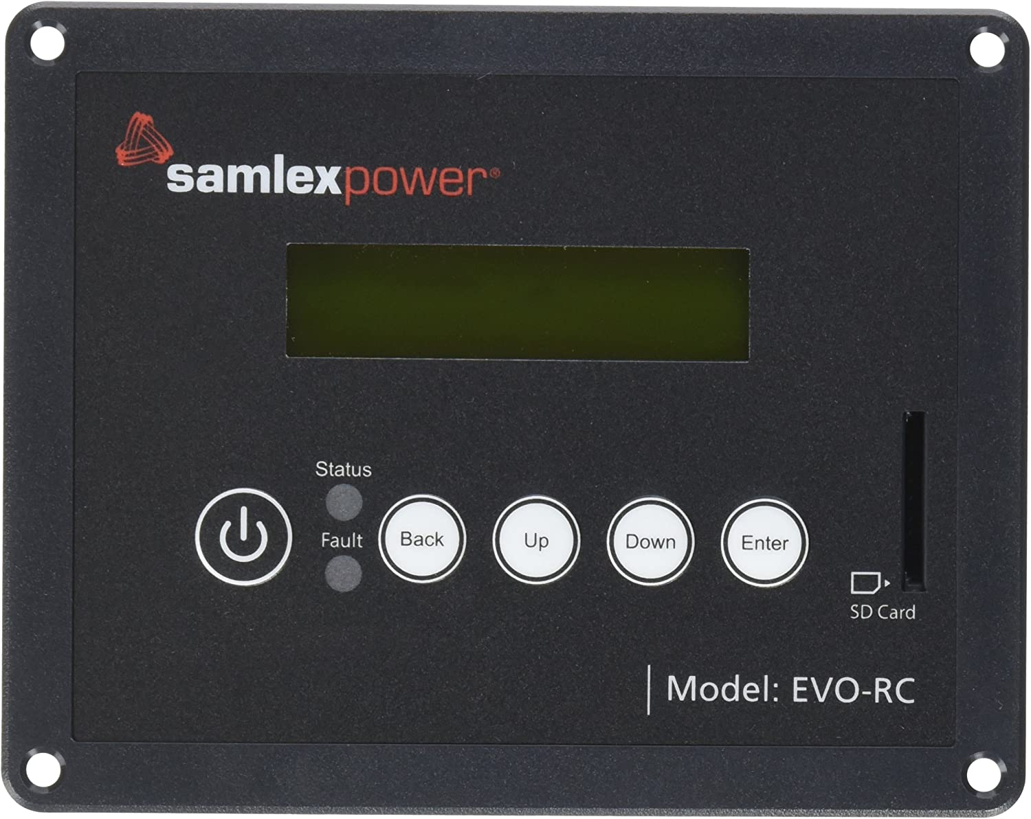 Samlex Solar EVO-RC Remote Control for Evolution Series Inverter Charger