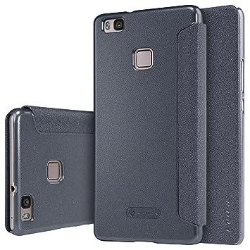 Nillkin Sparkle Carcasa Tipo Funda Libro Protectora con Ventana Inteligente, S-View para Huawei P9 Lite/Huawei G9: Amazon.es: Electrónica