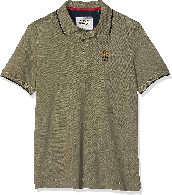 Aeronautica Militare M.c. Camisa de Polo para Hombre: Amazon.es ...