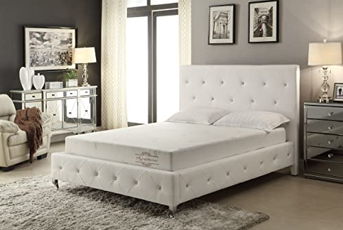 Memory Foam Mattress Aloe Vera 6-Inch Twin
