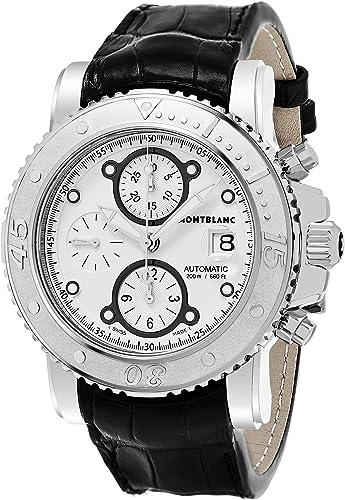 Montblanc Sport cronógrafo automático Mens Reloj 104280: Sport: Amazon.es: Relojes