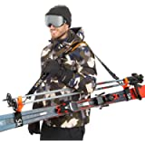 Sklon Ski Strap and Pole Carrier   Avoid The Struggle and Effortlessly Transport Your Ski Gear Everywhere You Go…