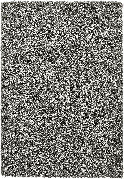 Think Rugs - Alfombra de Pelo Largo, Resistente a Las Manchas, 240 x 340 cm, Color Gris: Amazon.es: Hogar