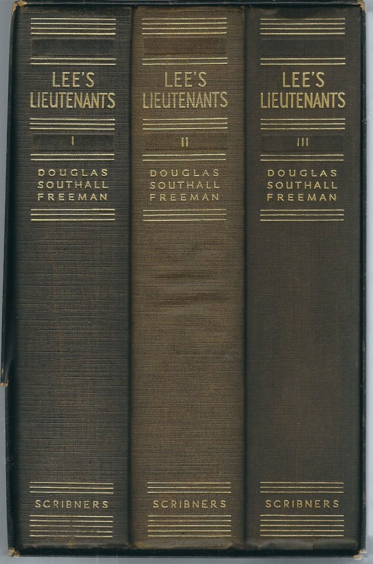 Lee's Lieutenants: A Study in Command (3 Volume Set), Douglas Southall Freeman