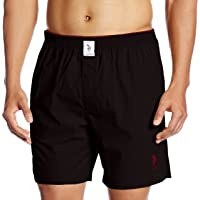 US Polo Association Men's Cotton Boxer