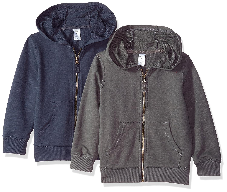 5505e66ef45c Amazon.com  Carter s Boys 2-Pack Full Zip Hoodie  Clothing
