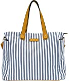 White Elm Weekender Bag - Lux Edition - Large Diaper Tote