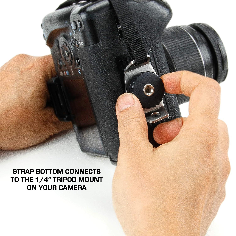 Empu/ñadura de Mu/ñeca Correa de Mano para C/ámara de Fotos R/éflex por USA GEAR como Canon,Nikon,Sony,Pentax y Muchas m/ás.Dise/ño Azteca