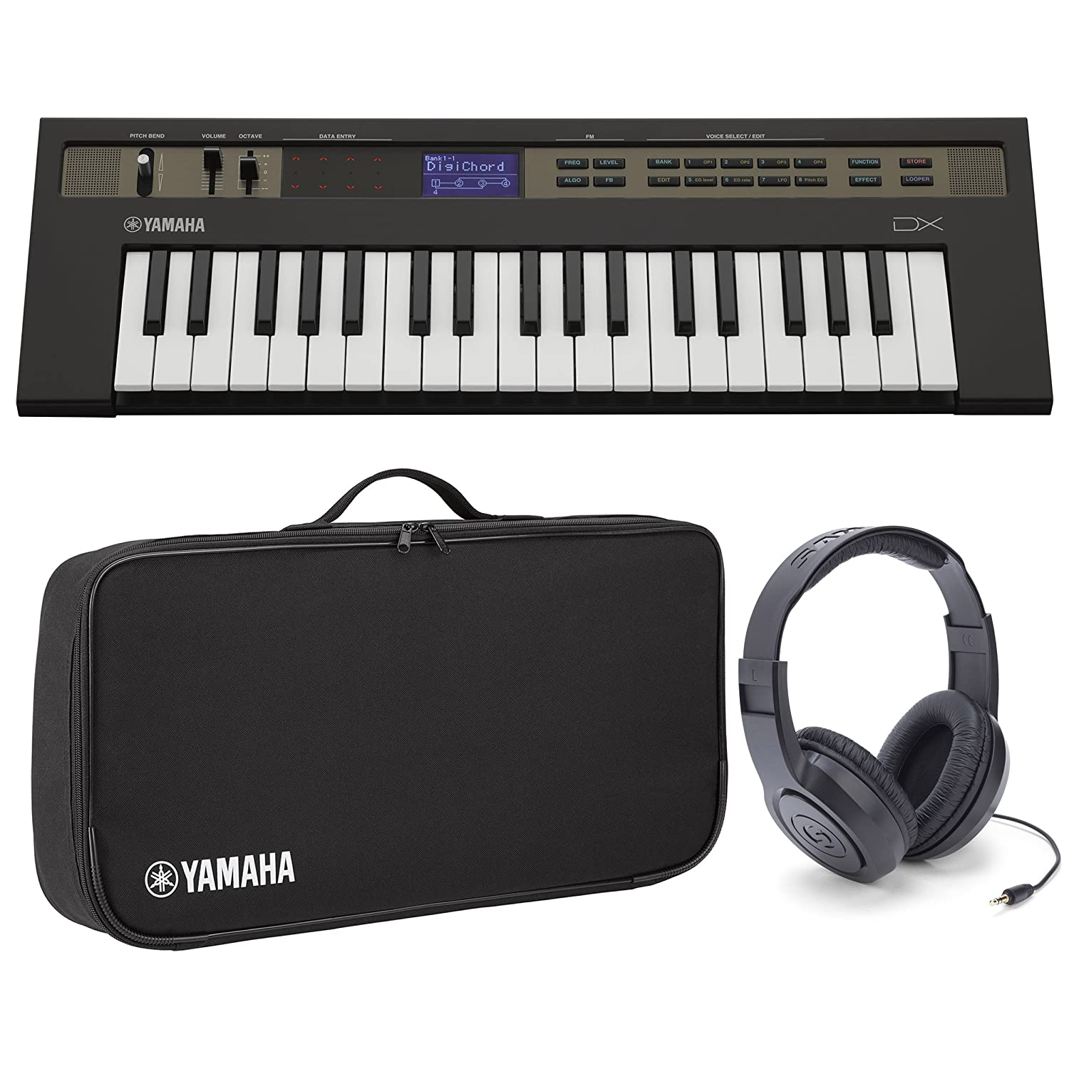 Yamaha Reface DX Portable FM Synthesizer w/Case and