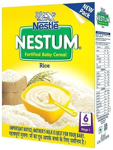 Nestle Nestum Infant Cereal Stage-1 (6 Months-24 Months) Rice 300g