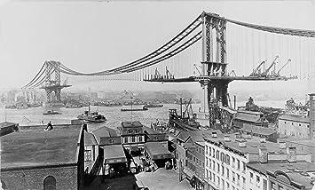 Amazon マンハッタン橋建設、19...