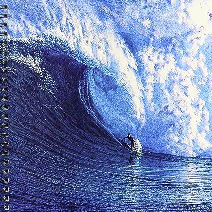 3dRose db _ 167236 _ 1 Monstruo Wave a Daring Surf Montar en tabla de surf