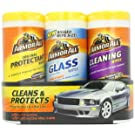 Armor All 44983 Protectant, Cleaning and Glass Wipe - 25 Sheets, (Pack of 3)