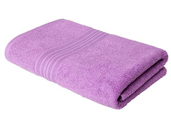 Homely 420 Gsm Cotton Bath Towel - Pink
