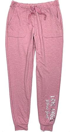 36844e8a286d4 Victoria's Secret Women's Cozy Jogger Lounge Pajama Sweat Pants Full ...