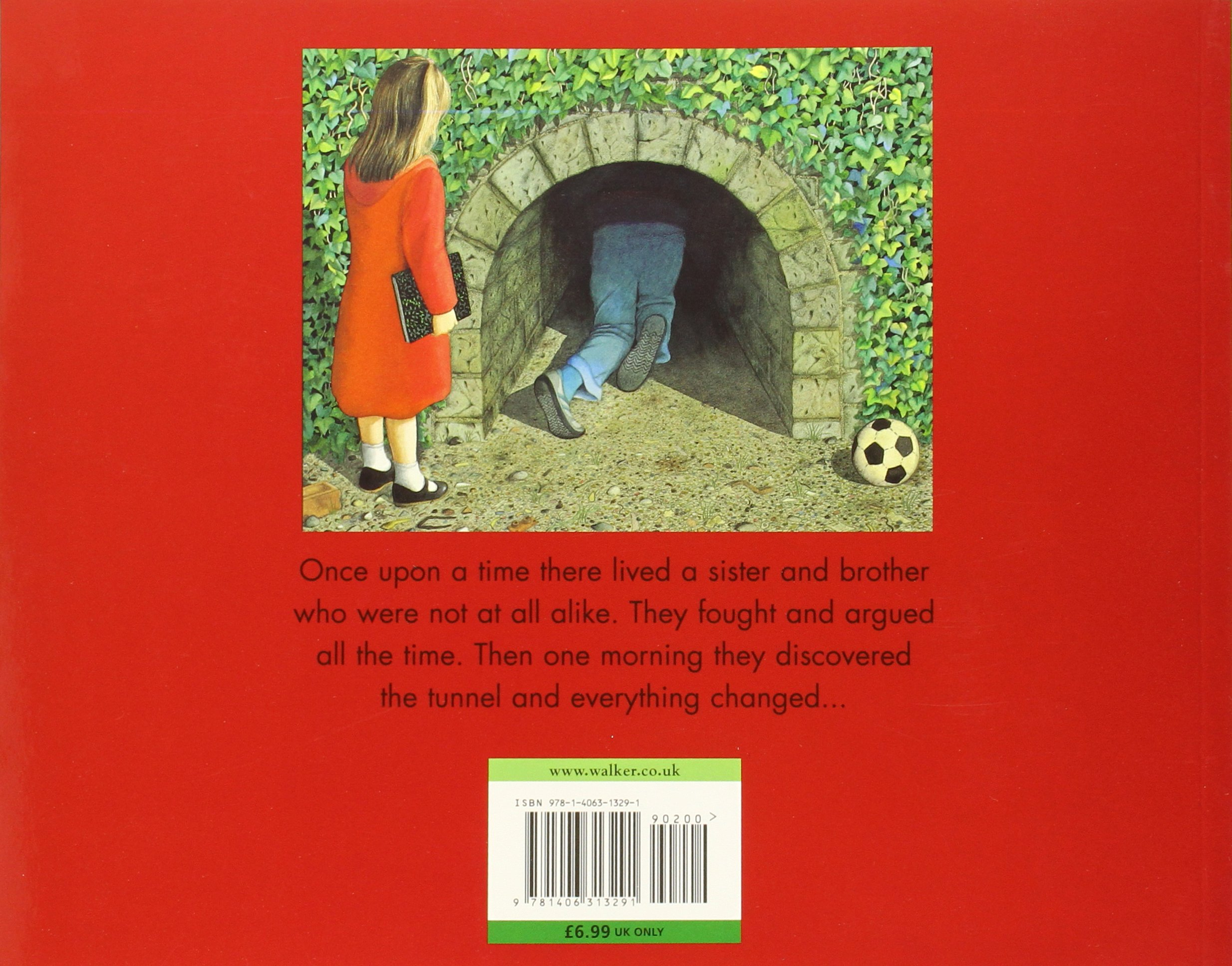 The Tunnel: Anthony Browne: 9781406313291: Amazon.com: Books