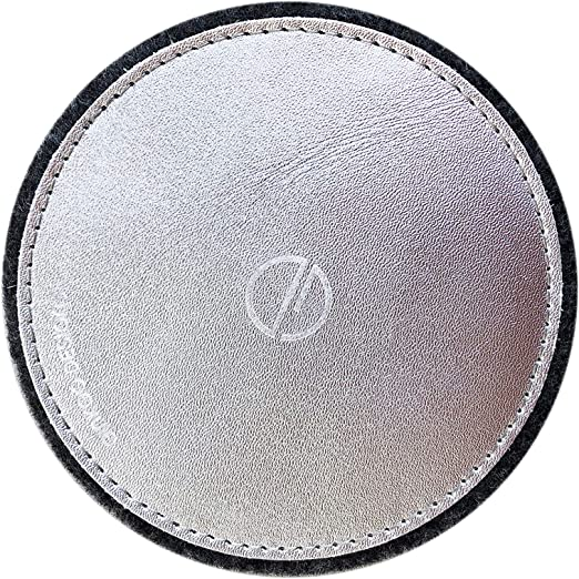 Amazon Com Ginkgo Designs Genuine Leather Coasters With Felt