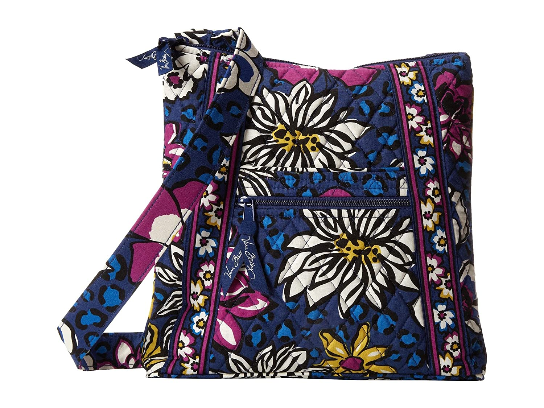 7fb368a286 Vera Bradley Hipster Crossbody Bag (African Violet)  Handbags  Amazon.com
