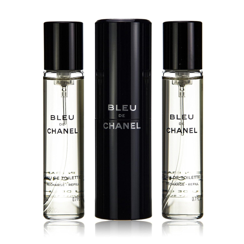 c55fbe08 Chanel Bleu De Chanel Eau De Toilette Travel Spray & Two Refills 3x20ml