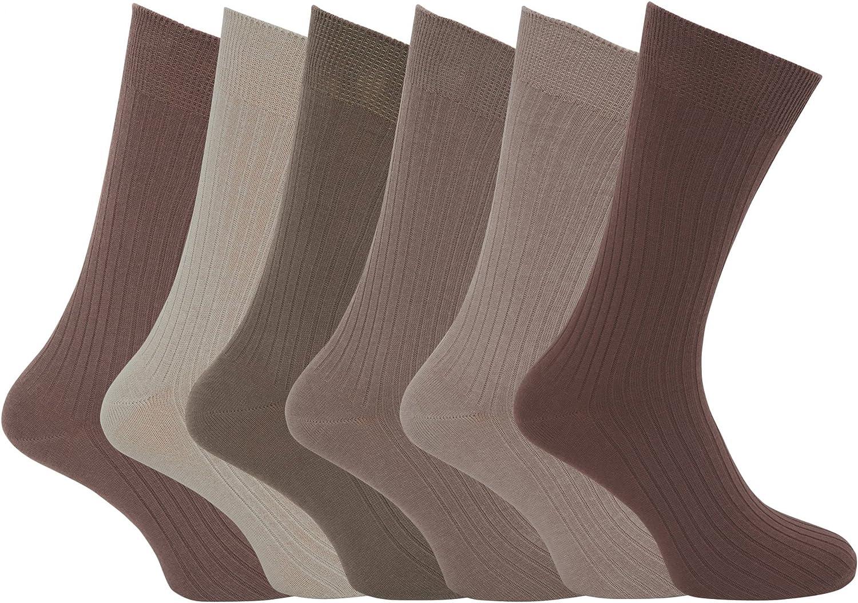 Calcetines XL acanalados 100% algodón Tallas 45-49 para hombre ...