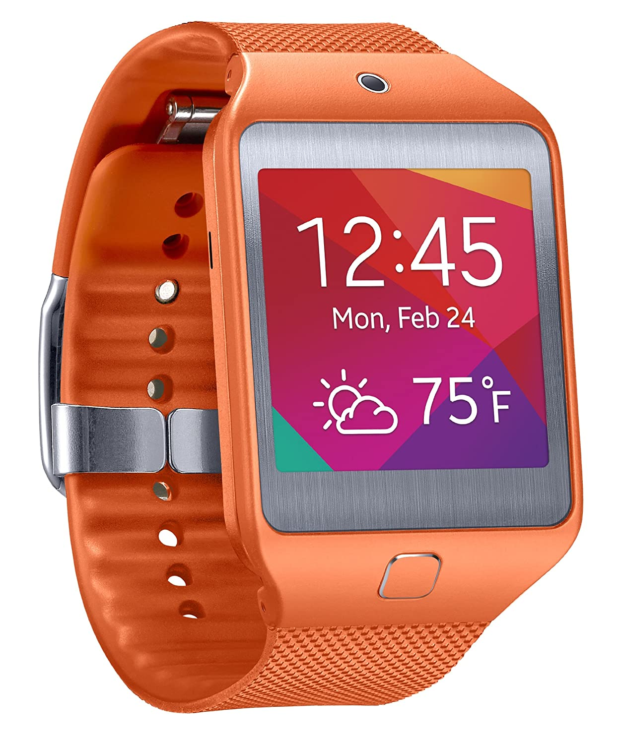 Samsung Gear 2 Neo Smartwatch - Orange (US Warranty) (Discontinued by Manufacturer)