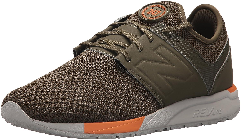New Balance Herren 247 Classic Mesh Sneaker  49 D EU|Olive/Green